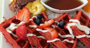 Magnolia's Red Velvet Waffles – Eat it Kansas City