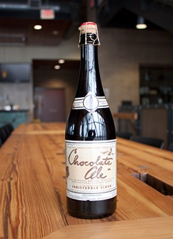 Boulevard's Chocolate Ale hits taps today, in stores Tuesday